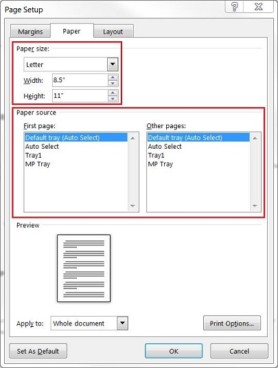 manual feed no paper load paper or mp tray when printing