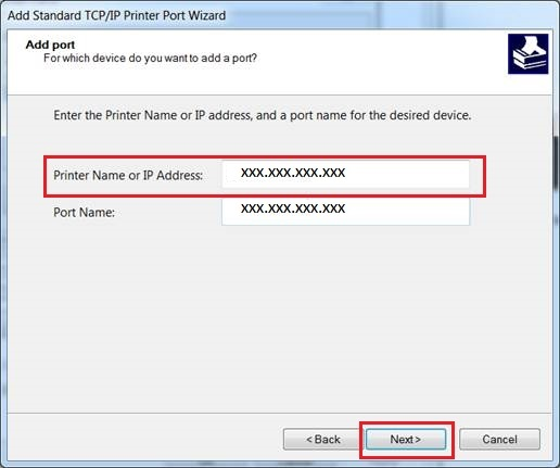 If You Receive A Window Stating Completing The Add Standard TCP IP Printer Port Wizard Then Click Finish Go To Step 4 J